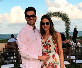 Danillo Ferreira viaja para o casamento de amigos